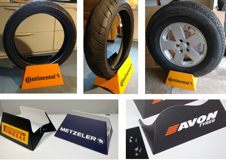 Tire Display Wheels